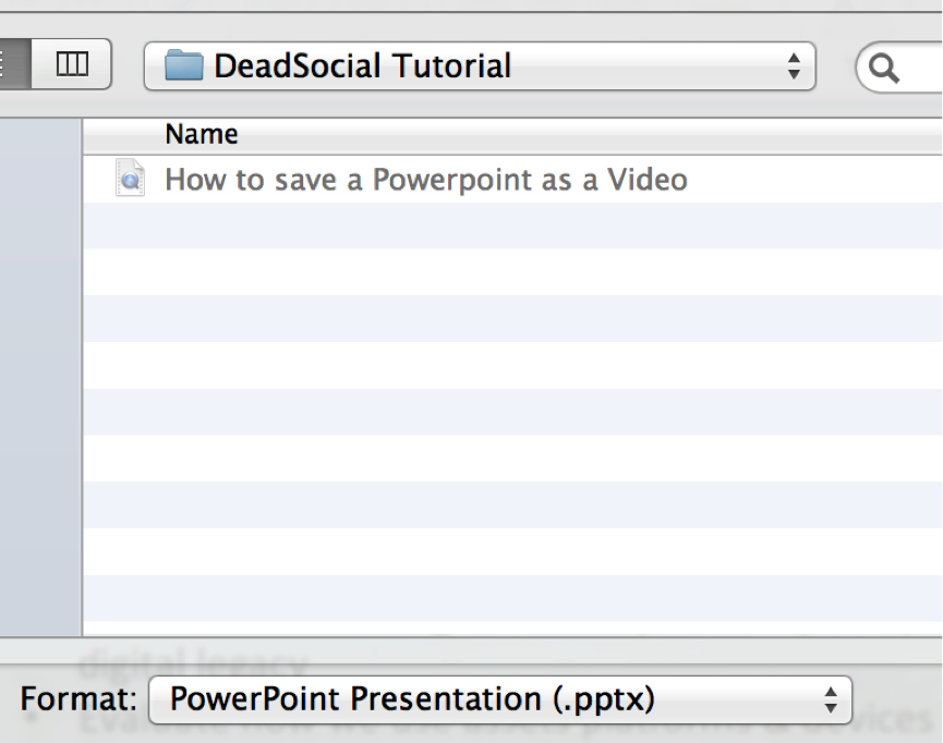 Deadsocial video slideshow tutorial 1