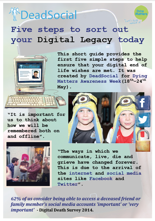 Five steps to Sort out your Digital Legacy